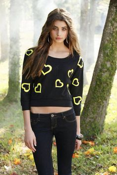 Taylor Hill...like her outfit