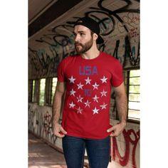 <transcy>Amerikaans voetbalshirt in jersey-stijl VS</transcy>