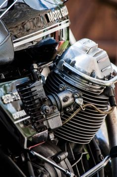 Habermann & Sons Classic Motorcycles and more: Photo Moto Guzzi V50, Moto Guzzi Motorcycles, Honda Cb750, Yamaha, Triumph Rocket, Classic Bikes, Classic Motorcycle, Motorcycle Posters, Old Bikes