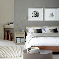 Grey modern bedroom | Modern bedroom ideas | Bedroom | PHOTO GALLERY | Housetohome.co.uk