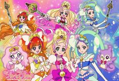 Pretty cure go princess