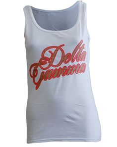 Delta Gamma Do Good Tank by Adam Block Design | Custom Greek Apparel & Sorority Clothes | www.adamblockdesign.com