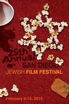 Jewish Film Festival, Film Festival Poster, San Diego, Resume, Behance, Design, Cv Design