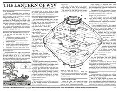 """The Lantern of Wyv"", by Michael Prescott, 1st place winner, 2015 One Page Dungeon contest organized by Random Wizard. See the PDF Files link at the top of http://www.onepagedungeon.info/2015/"