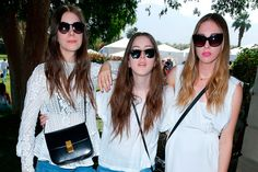 Due to wrap up their two year tour, Haim travelled to meet Stevie Nicks at her Los Angeles home for an in-depth conversation about life in the music industry. Description from nme.com. I searched for this on bing.com/images