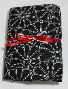 Black and White Fitted Sheet for Toddlers or Crib by KidsSheets, $24.00