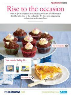 The Co-operative Food Magazine September/October 2013 October 2013, Mini Cupcakes, Tart, Muffin, Apple, Magazine, Orange, Breakfast, Sweet