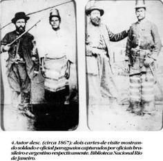 Imagens Históricas: Guerra do Paraguai
