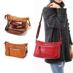 34e2a2f72eb4 Brenice Multi-functional Casual Crossbody Bag Shoulder Bag For Women is  designer