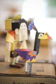 Festa Infantil. Up! Altas Aventuras. Party. Kids. Paper craft - by http://www.bacurifestas.com.br/ - parceria Florinda Festas