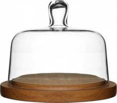 Buy Sagaform Cheese Dome online and save! Sagaform is all about joyful and innovative gifts for the kitchen and beautifully dressed table, both indoors and out. Cheese dome, oak base with hand. Serveware, Tableware, Cheese Dome, Good To Great, Glass Domes, Serving Dishes, Hand Blown Glass, Organizer, Kitchen Gadgets