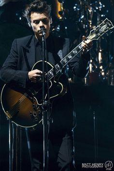 Harry on stage, December 2, 2017