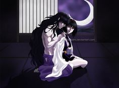 Naraku and Yura - By Your Side by PaolaPieretti.deviantart.com on @DeviantArt