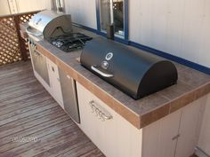 outdoor kitchen with smoker designs | Outdoor Kitchen | Woodwork by Woodbeck