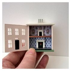 2 in miniature house