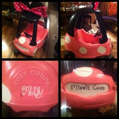 DIY Cozy Coupe to Minnie Coupe somebody make us one