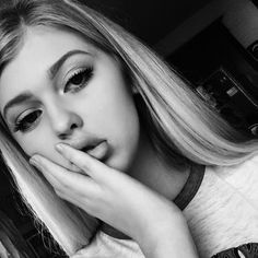 beauty in black and white