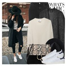 """2249. Street Style ⬇⬇⬇"" by chocolatepumma ❤ liked on Polyvore featuring Oris, Topshop, Monki, 3.1 Phillip Lim, Ryan Roche and adidas"