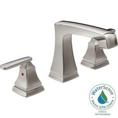 Delta Ashlyn 8 in. Widespread 2-Handle High-Arc Bathroom Faucet in Stainless - 3564-SSMPU-DST - The Home Depot