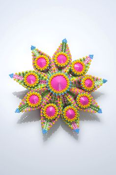 Suzanne-Golden-Brooch-1 Image. Love her work. Gorgeous Spring colors, too.