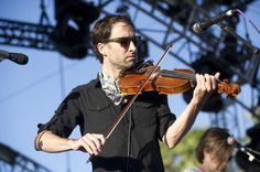 Andrew Bird performing at Coachella
