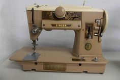 SINGER 401A Sewing Machine Sews Perfectly Awesome Multiple Stitches Video Demo #Singer401A