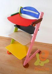 Dětská rostoucí nastavitelná židle Jitro Baby