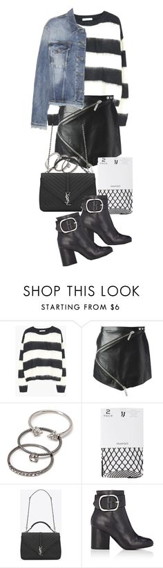 """""""Untitled #20702"""" by florencia95 ❤ liked on Polyvore featuring Kenzo, Forever 21, MANGO, Yves Saint Laurent, Alexander Wang and Acne Studios"""