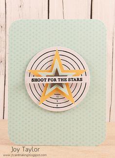 mama elephant | design blog: Stamp Highlight: On Target Quality archerytag equipment at https://www.etsy.com/shop/ArcherySky