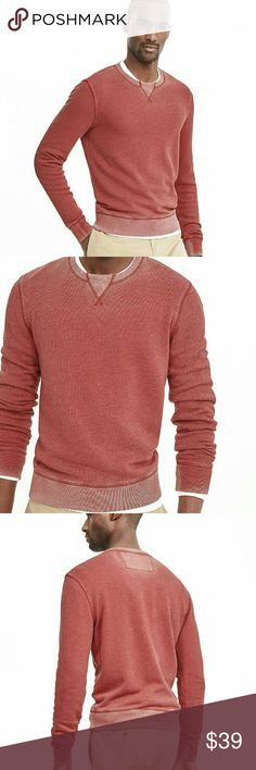 Banana Republic red sweater NWT BR faded red sweater.  No issues.  Classy but casual look. Banana Republic Sweaters Crewneck