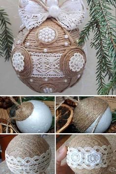 Charming Vintage Christmas Decorations DIY
