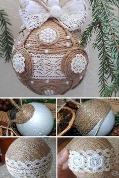 Charming Vintage Christmas Decorations DIY
