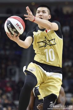 Kris at NBA All Star Celebrity Game