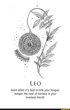 Leo Zodiac Tattoos, Leo Zodiac Facts, Leo Tattoos, Zodiac Art, Mini Tattoos, Future Tattoos, Small Tattoos, Small Leo Tattoo, Leo Sign Tattoo