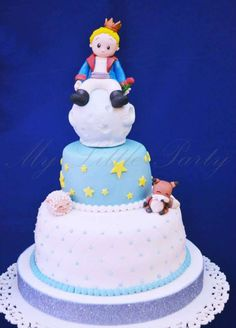 The Little Prince birthday party cake! See more party ideas at CatchMyParty.com!