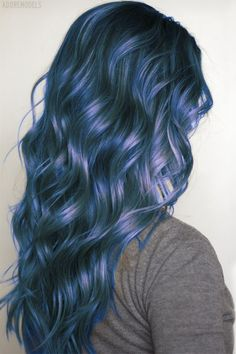 Too much of a whimp to dye my hair this colour, but this shade is really pretty.
