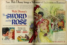 """The Sword and the Rose"" ad (LOOK magazine, 1953-06-30, pp.38-39)"