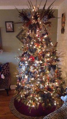 safari themed christmas tree - Google Search