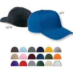"""Flexfit (R) wooly 6-panel cap. 63% polyester, 34% cotton, 3% spandex combed twill cap. 6-panel, structured, mid-profile; wool-like texture; 3 1/2"""" crown with eight-row stitching on bill. Hard buckram backed front panels; sewn eyelets with Silver underbill. Spandex sweatband retains shape. Great for high school and college athletic associations or just to be worn as a fashion accessory."""