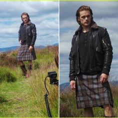 Italian Outlanders — New / Old #SamHeughan photoshoot . Via JustJared...