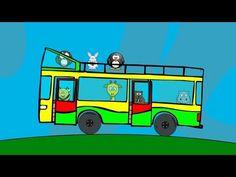 Die Räder vom Bus - MIX mit Tieren (Sing mit Version) Kinderlieder in Deutscher Sprache - YouTube