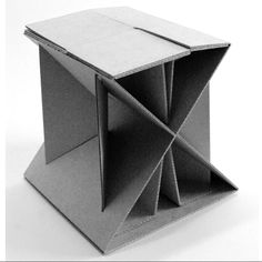 cardboard stool                                                                                                                                                     More