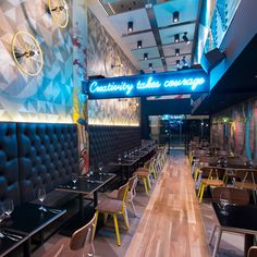 1000 images about interior bar restaurant on pinterest for Music themed interior designs