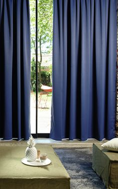 New fabric collection. Éclipse Wide width blackout fabric. Very nice hand, fell soft and fluid. Fire resistant. #elitis, #fabric, #blackout, #curtains