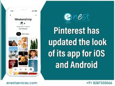 Pinterest has updated the look of its app for iOS and Android. The most obvious change when opening the app after the update is... 1. Personal Recommendations 2. New Profile Design 3. Re-organized Navigation Menu  know more about social media updates. contact us : +91 8287335066  #Smo #pinterest #Digitalmarketing #Socialmedia #newupdates