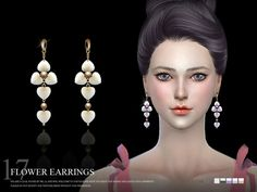 Lana CC Finds - S-Club LL ts4 earring 17(f)