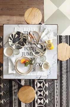 Feast Your Eyes Anthropologie's New Collection for Spring #nousDECOR
