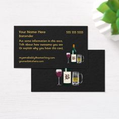 Whiskey liquor store brushed stainless steel metal business card bartender black business card colourmoves