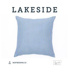 BoatBedding-Brunelli-coussin-rayé20x20 Women, Decorative Pillows, Products, Women's