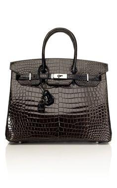 Santa Baby Please Next Christmas Hermes Crocodile Birkin in Black~ Miss  Millionairess Hermes Bags 844339bbfa1d0